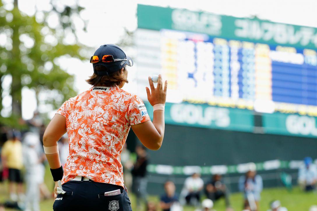 ゴルフ5レディス プロゴルフトーナメント 第2日 穴井 詩 <Photo:Ken Ishii/Getty Images>