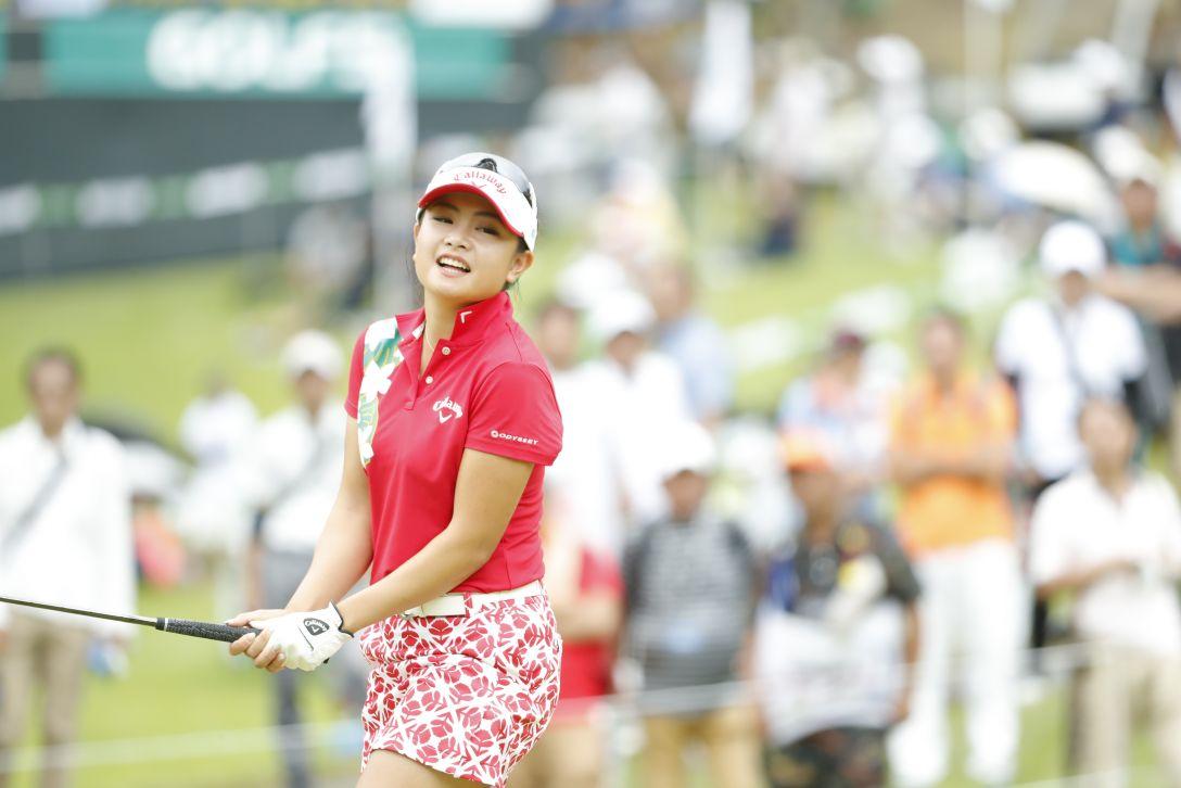 ゴルフ5レディス プロゴルフトーナメント 第2日 河本 結 <Photo:Ken Ishii/Getty Images>