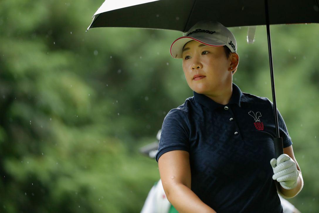 ゴルフ5レディス プロゴルフトーナメント 第2日 申 ジエ <Photo:Ken Ishii/Getty Images>