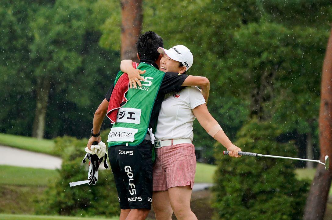 ゴルフ5レディス プロゴルフトーナメント 最終日 申ジエ <Photo:Ken Ishii/Getty Images>