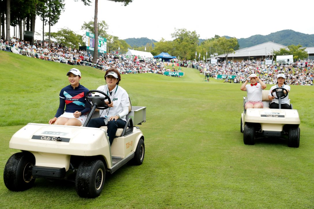 ゴルフ5レディス プロゴルフトーナメント 最終日 プレーオフへ <Photo:Ken Ishii/Getty Images>