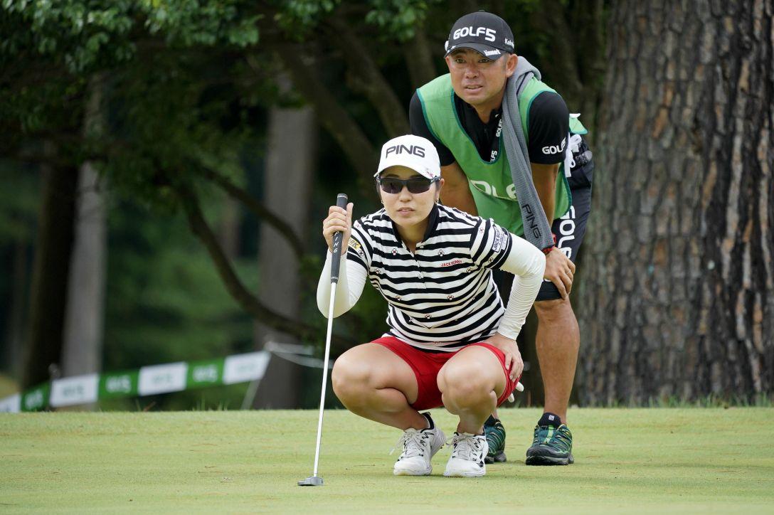 ゴルフ5レディス プロゴルフトーナメント 最終日 比嘉 真美子 <Photo:Ken Ishii/Getty Images>
