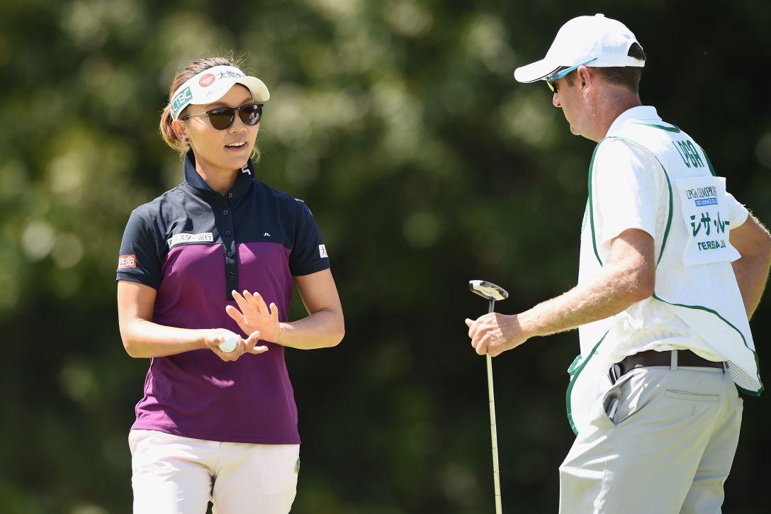日本女子プロゴルフ選手権大会コニカミノルタ杯 第1日 テレサ・ルー <Photo:Matt Roberts/Getty Images>