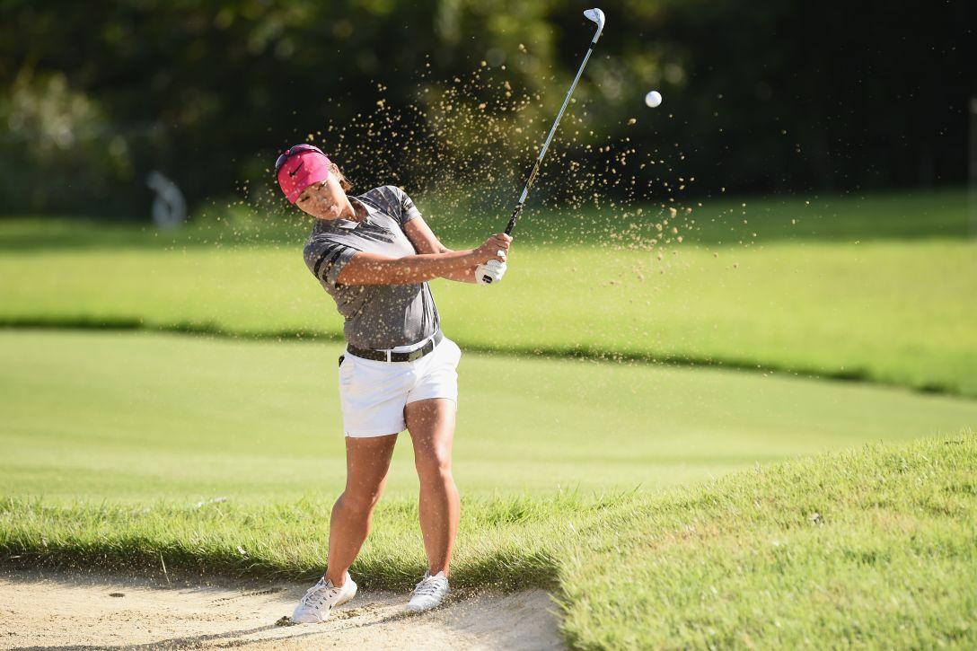 日本女子プロゴルフ選手権大会コニカミノルタ杯 第1日 葭葉ルミ <Photo:Matt Roberts/Getty Images>