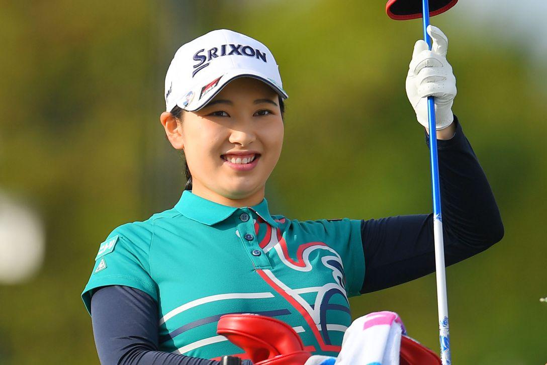 日本女子プロゴルフ選手権大会コニカミノルタ杯 第1日 小祝さくら <Photo:Atsushi Tomura/Getty Images>