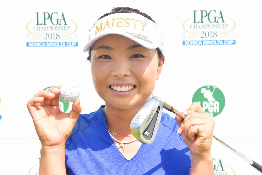 日本女子プロゴルフ選手権大会コニカミノルタ杯 第1日 岩橋里衣 <Photo:Atsushi Tomura/Getty Images>
