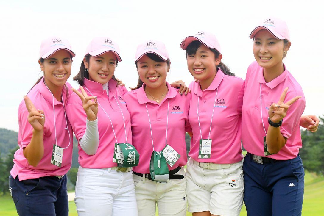 日本女子プロゴルフ選手権大会コニカミノルタ杯 第1日 <Photo:Atsushi Tomura/Getty Images>