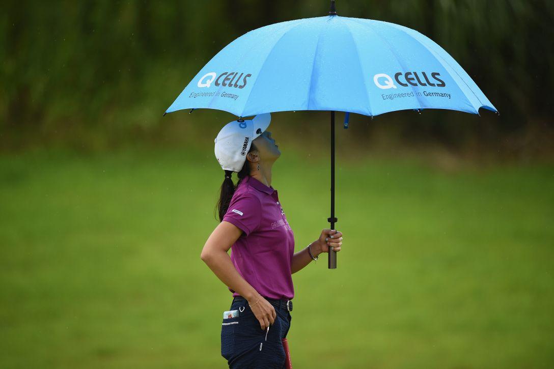 日本女子プロゴルフ選手権大会コニカミノルタ杯 第2日 ユンチェヨン <Photo:Matt Roberts/Getty Images>