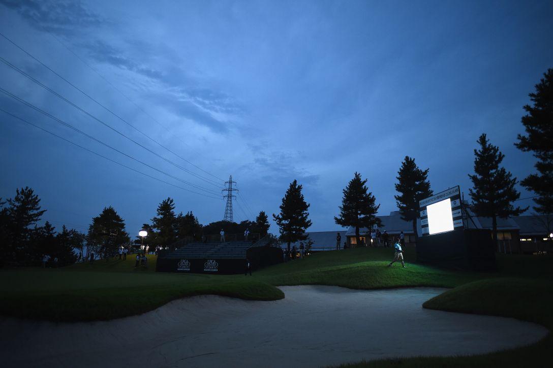 日本女子プロゴルフ選手権大会コニカミノルタ杯 第2日 9番ホール <Photo:Matt Roberts/Getty Images>