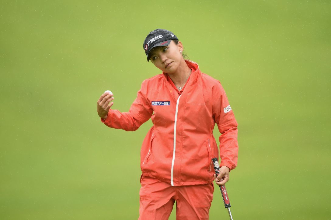 日本女子プロゴルフ選手権大会コニカミノルタ杯 第2日 テレサ・ルー <Photo:Matt Roberts/Getty Images>