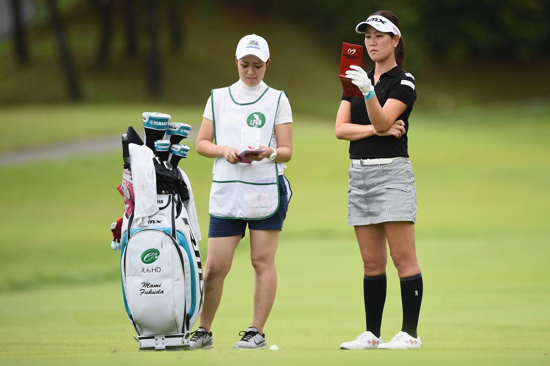 日本女子プロゴルフ選手権大会コニカミノルタ杯 第3日 福田真未 <Photo:Matt Roberts/Getty Images>
