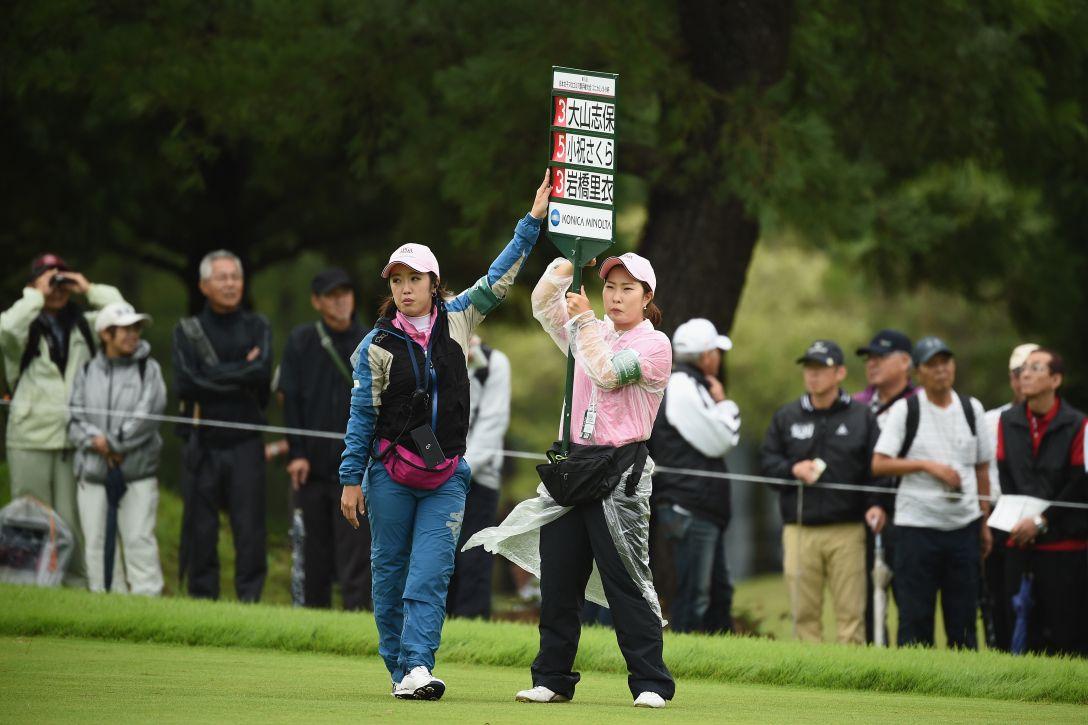 日本女子プロゴルフ選手権大会コニカミノルタ杯 最終日 ルーキー業務 <Photo:Matt Roberts/Getty Images>