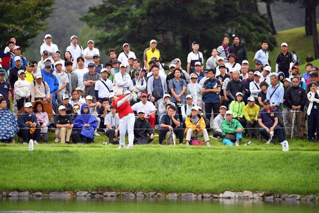 日本女子プロゴルフ選手権大会コニカミノルタ杯 最終日 アンソンジュ <Photo:Atsushi Tomura/Getty Images>