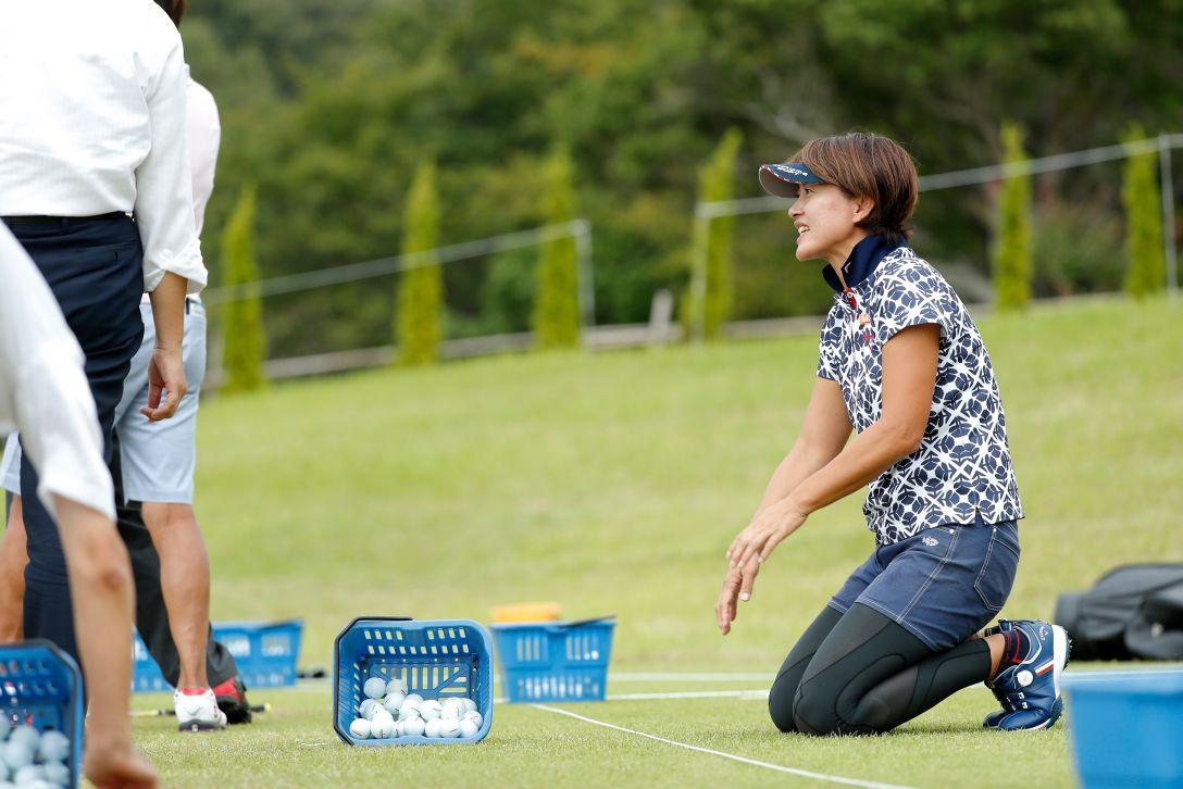 LPGAレジェンズチャンピオンシップ CHOFUカップ 第1日 下條 江理子 <Photo:Ken Ishii/Getty Images>