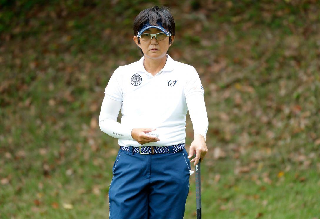 LPGAレジェンズチャンピオンシップ CHOFUカップ 第1日 祖父江 歩 <Photo:Ken Ishii/Getty Images>