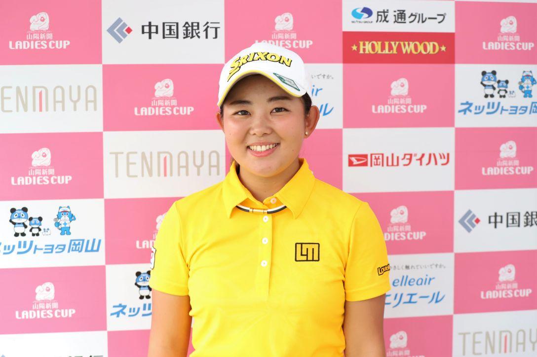 山陽新聞レディースカップ 第1日 淺井咲希