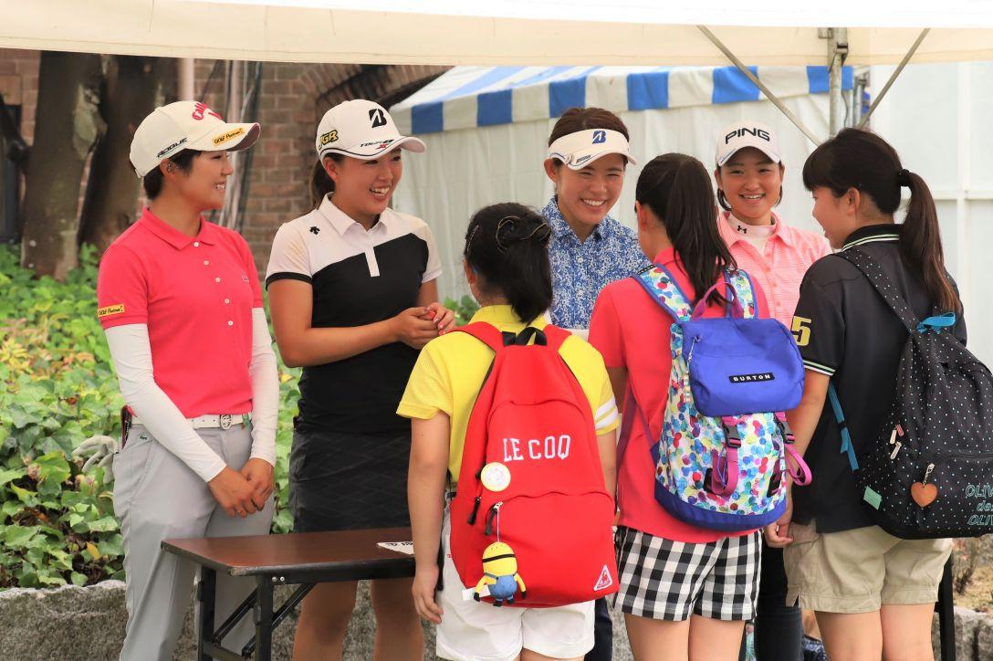 山陽新聞レディースカップ 第2日