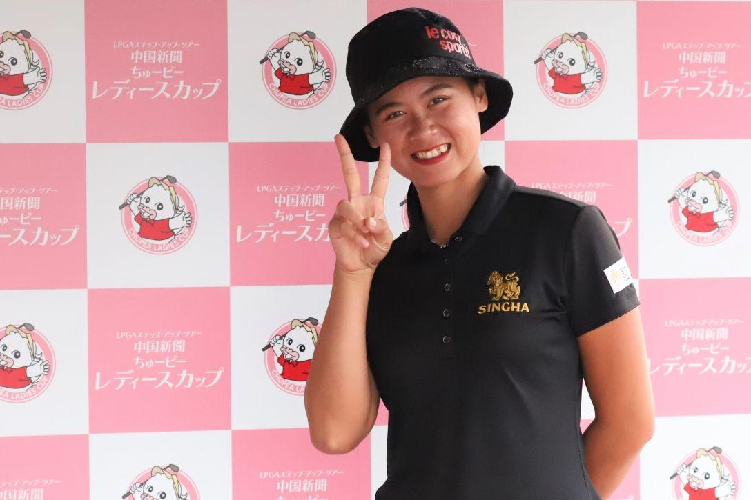 中国新聞ちゅーピーレディースカップ 第2日 ブッサバコン・スカパン