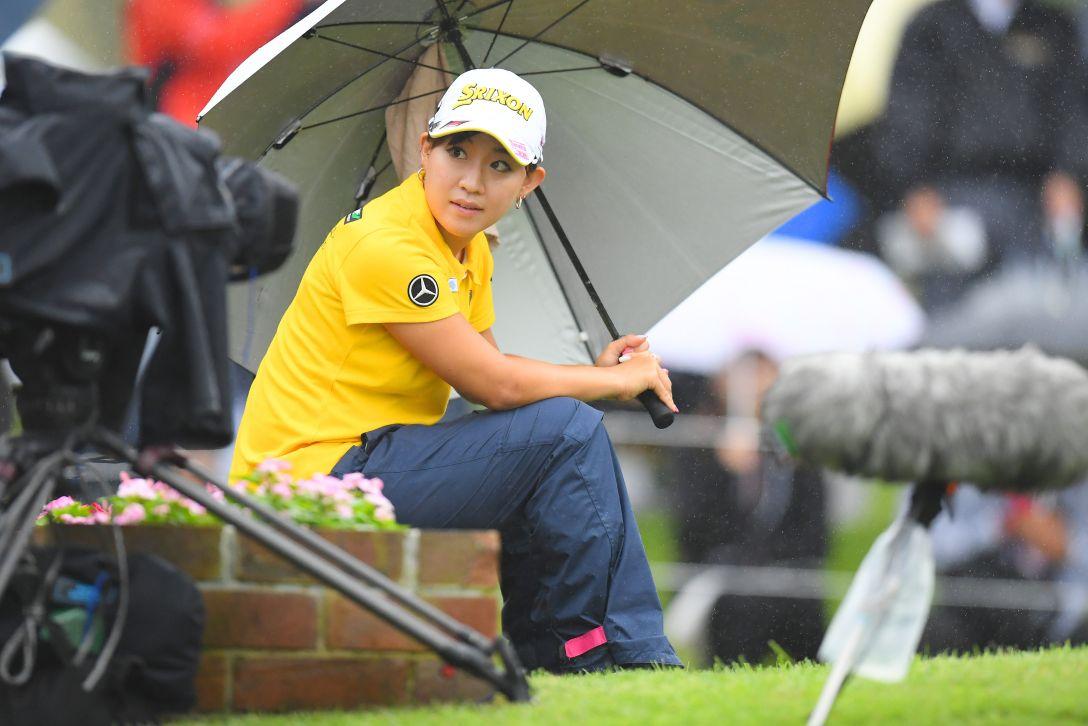 ミヤギテレビ杯ダンロップ女子オープンゴルフトーナメント 第1日 香妻琴乃 <Photo:Atsushi Tomura/Getty Images>