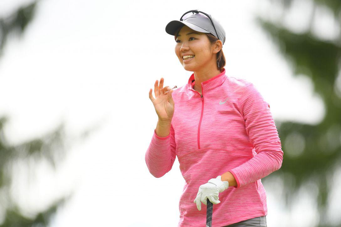 ミヤギテレビ杯ダンロップ女子オープンゴルフトーナメント 第2日 葭葉ルミ <Photo:Atsushi Tomura/Getty Images>