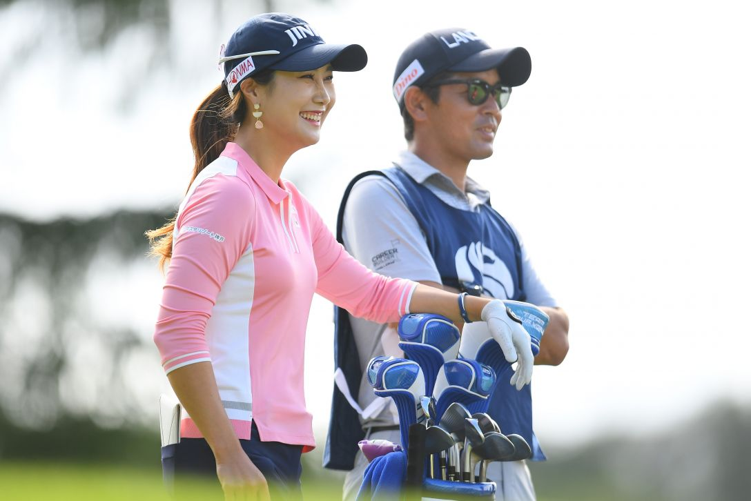 ミヤギテレビ杯ダンロップ女子オープンゴルフトーナメント 第2日 キムハヌル <Photo:Atsushi Tomura/Getty Images>