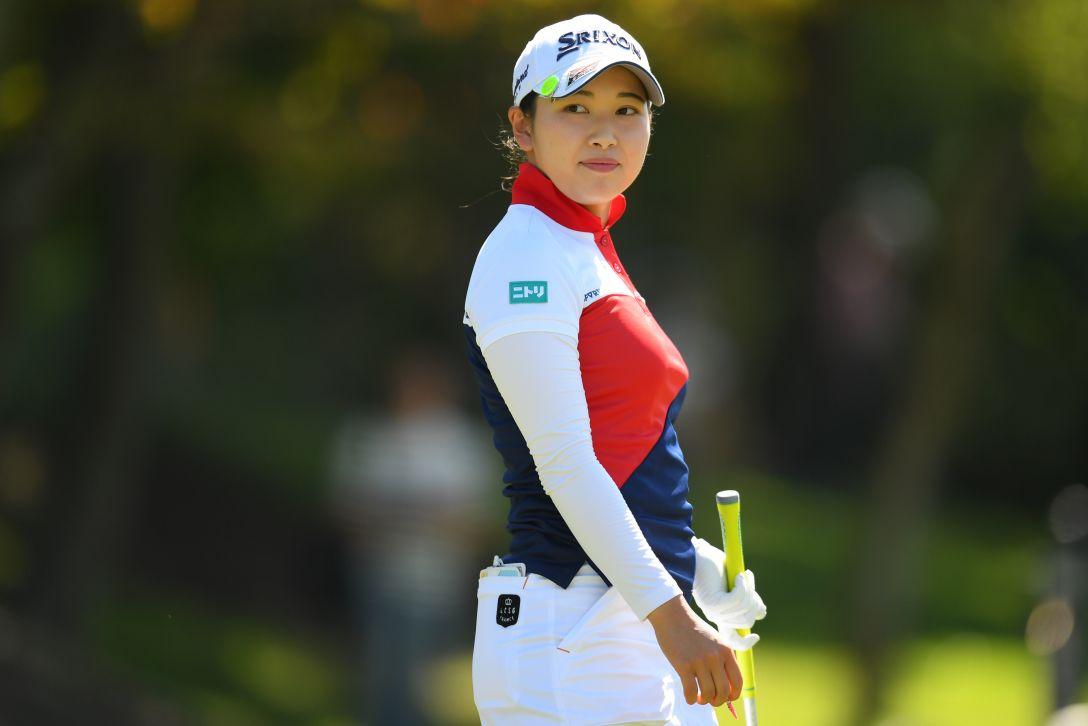 ミヤギテレビ杯ダンロップ女子オープンゴルフトーナメント 最終日 小祝さくら <Photo:Atsushi Tomura/Getty Images>