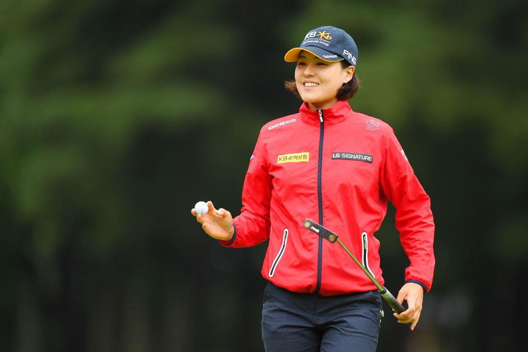 日本女子オープンゴルフ選手権 第1日 チョンインジ <Photo:Atsushi Tomura/Getty Images>