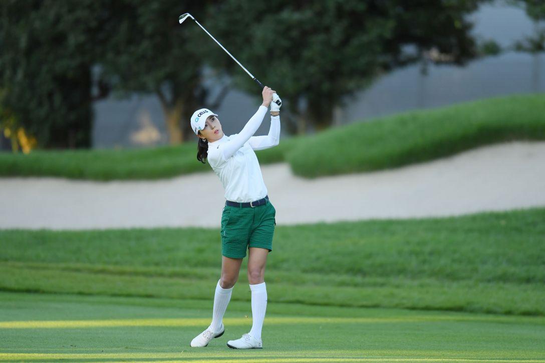 日本女子オープンゴルフ選手権 第2日 ユンチェヨン <Photo:Atsushi Tomura/Getty Images>