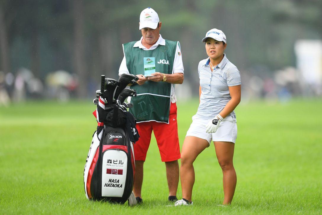 日本女子オープンゴルフ選手権 第3日 畑岡奈紗 <Photo:Atsushi Tomura/Getty Images>