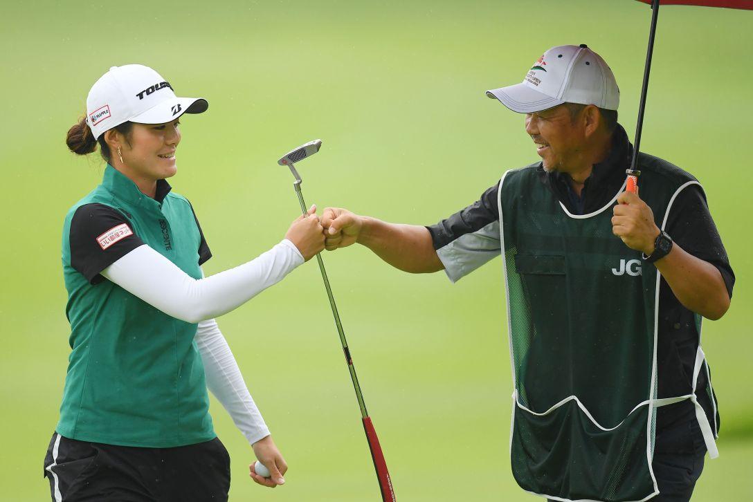 日本女子オープンゴルフ選手権 第3日 渡邉彩香 <Photo:Atsushi Tomura/Getty Images>