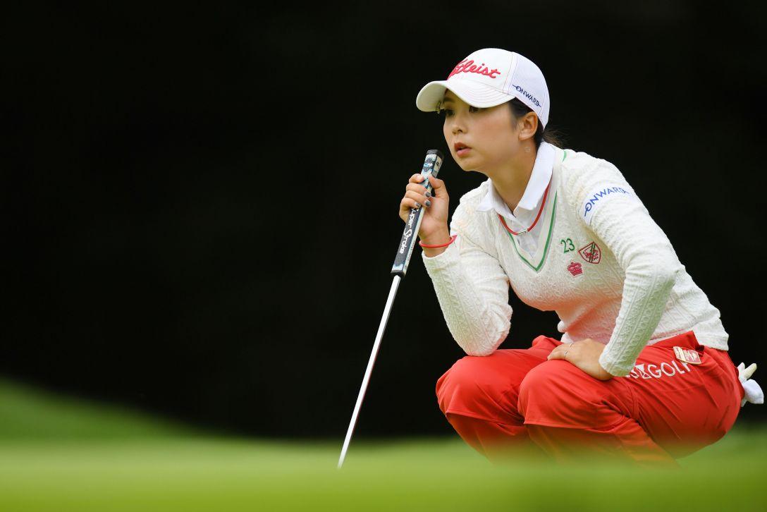 日本女子オープンゴルフ選手権 最終日 菊地絵理香 <Photo:Atsushi Tomura/Getty Images>