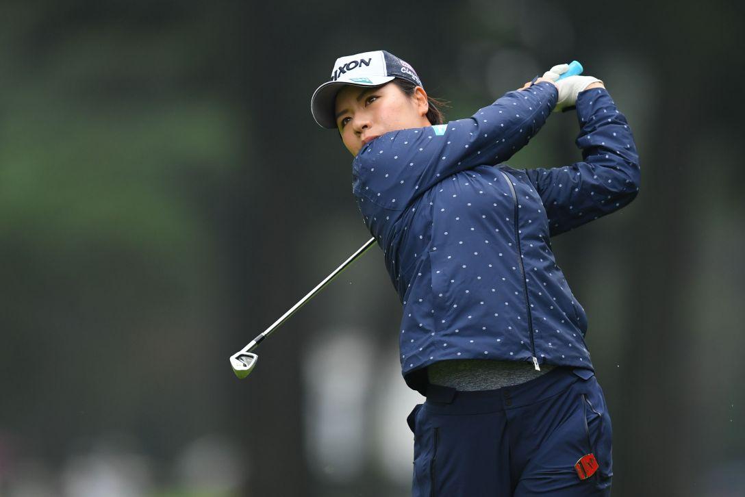 日本女子オープンゴルフ選手権 最終日 岡山絵里 <Photo:Atsushi Tomura/Getty Images>