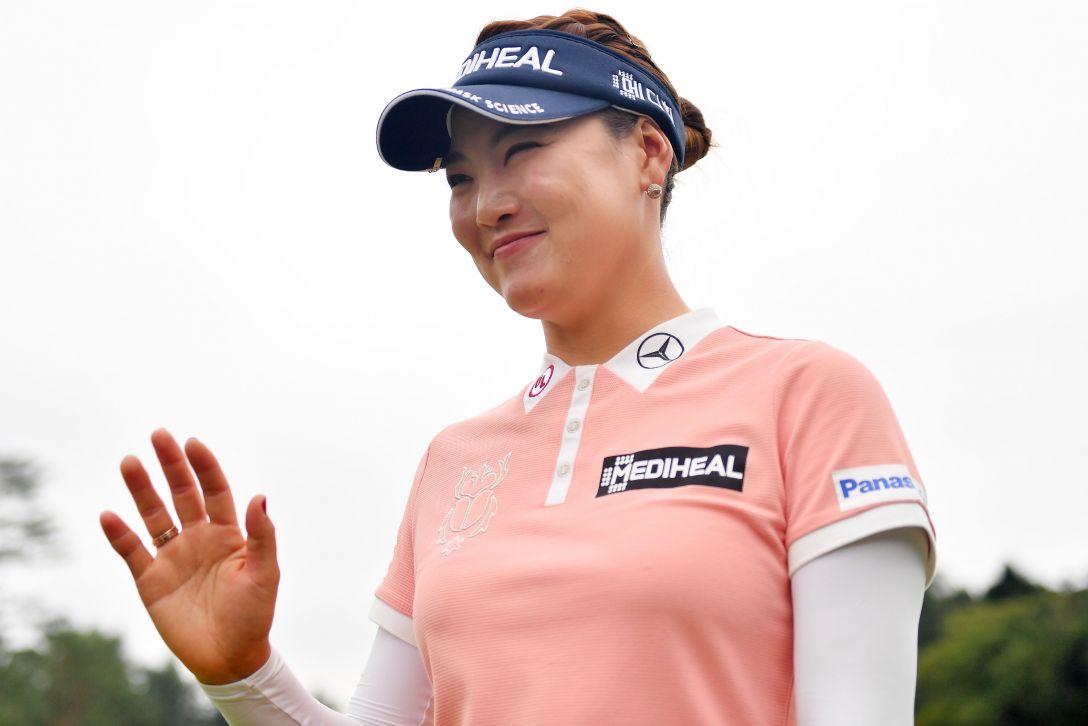 日本女子オープンゴルフ選手権 最終日 ユソヨン <Photo:Atsushi Tomura/Getty Images>