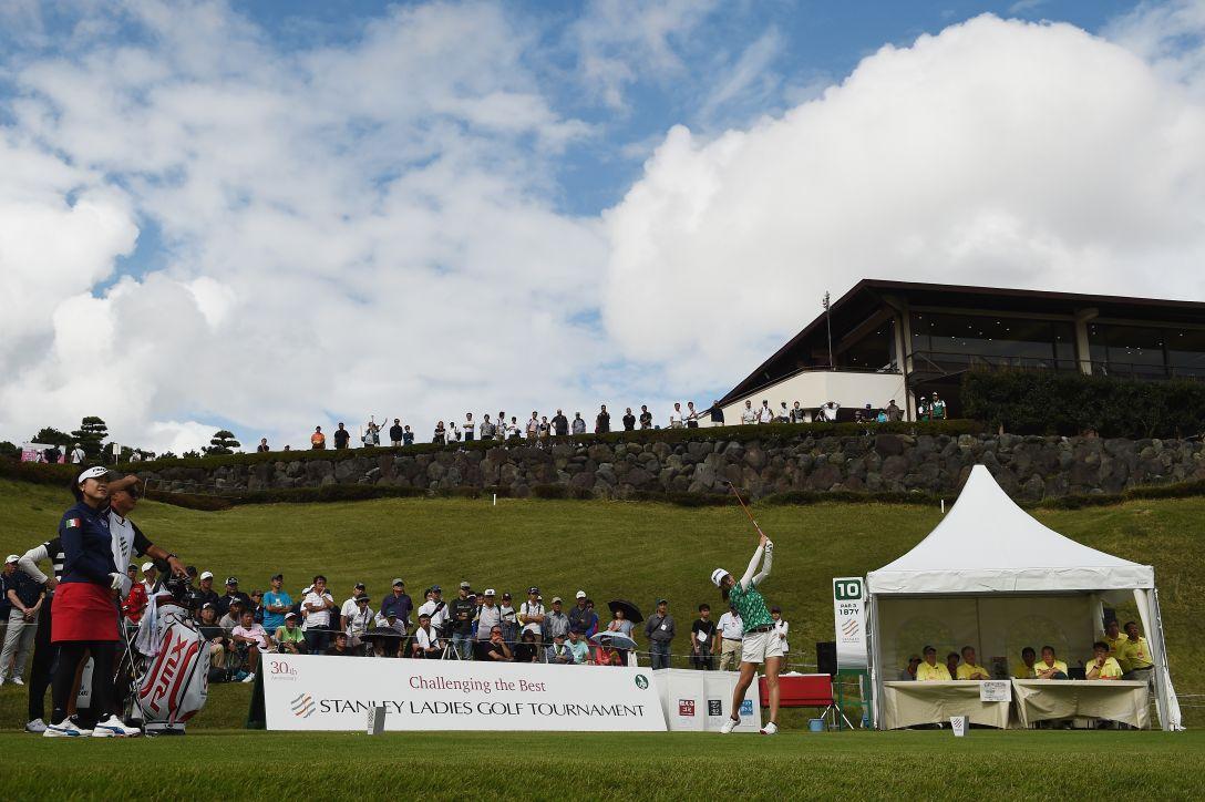 スタンレーレディスゴルフトーナメント 第2日 新垣比菜 <Photo:Matt Roberts/Getty Images>