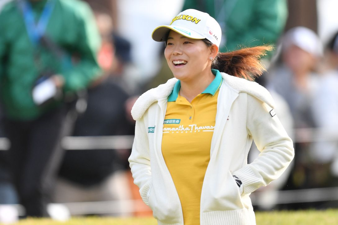 樋口久子 三菱電機レディスゴルフトーナメント 最終日 勝みなみ <Photo:Atsushi Tomura/Getty Images>