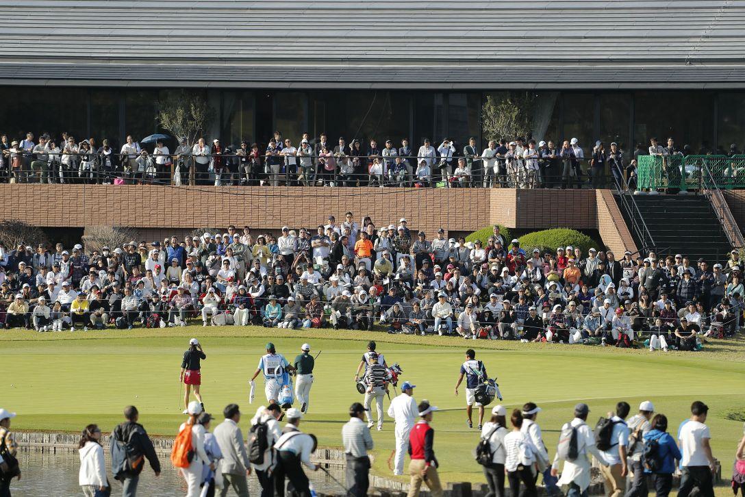 伊藤園レディスゴルフトーナメント 最終日 ギャラリー <Photo:Ken Ishii/Getty Images>