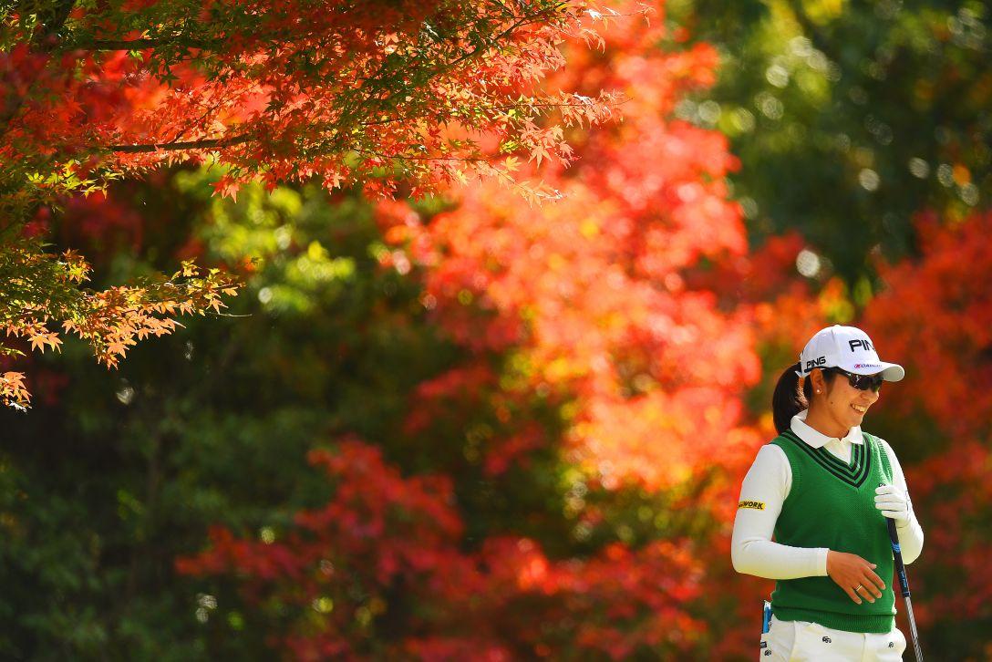 大王製紙エリエールレディスオープン 第2日 比嘉 真美子 <Photo:Atsushi Tomura/Getty Images>