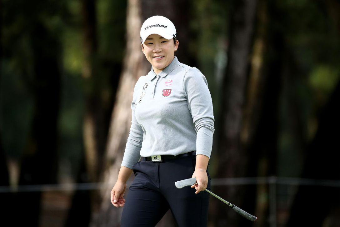 LPGAツアーチャンピオンシップリコーカップ 第1日 申 ジエ <Photo:Chung Sung-Jun/Getty Images>