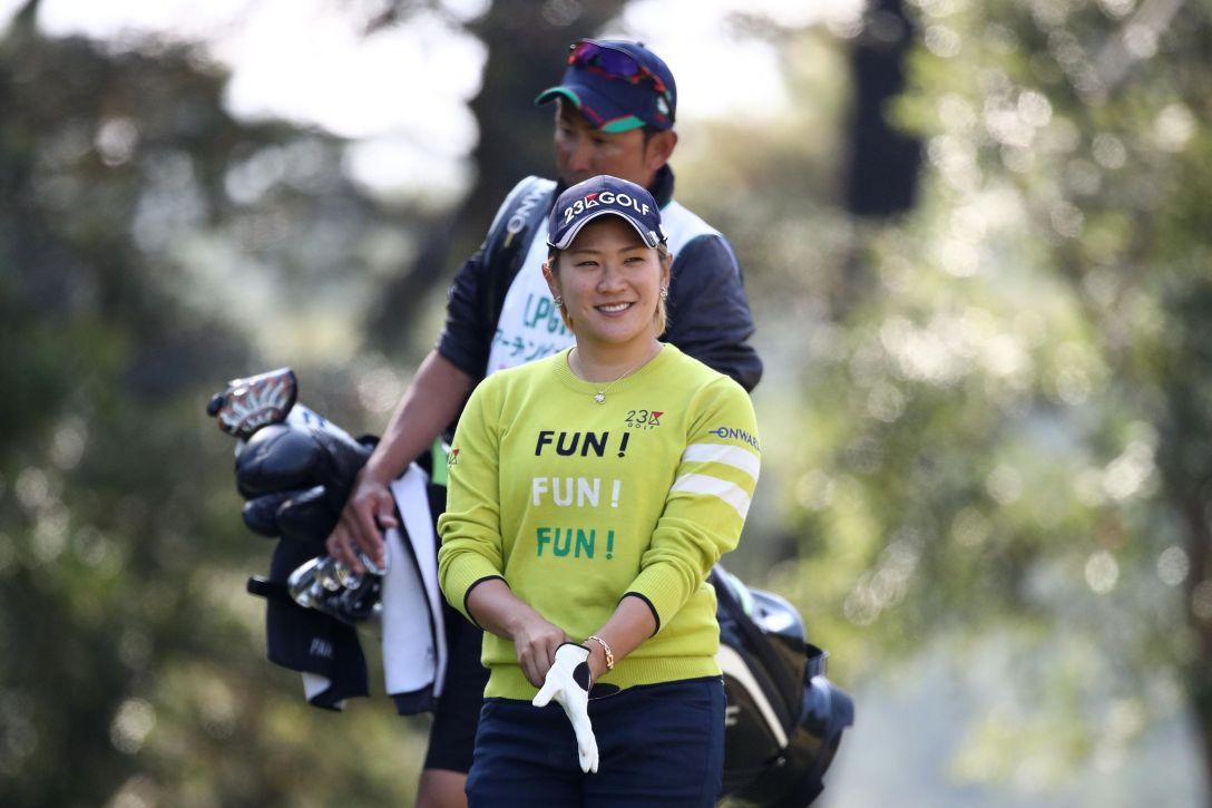 LPGAツアーチャンピオンシップリコーカップ 第1日 成田 美寿々 <Photo:Chung Sung-Jun/Getty Images>
