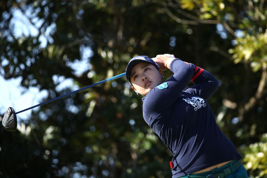 LPGAツアーチャンピオンシップリコーカップ 第2日 鈴木愛 <Photo:Chung Sung-Jun/Getty Images>