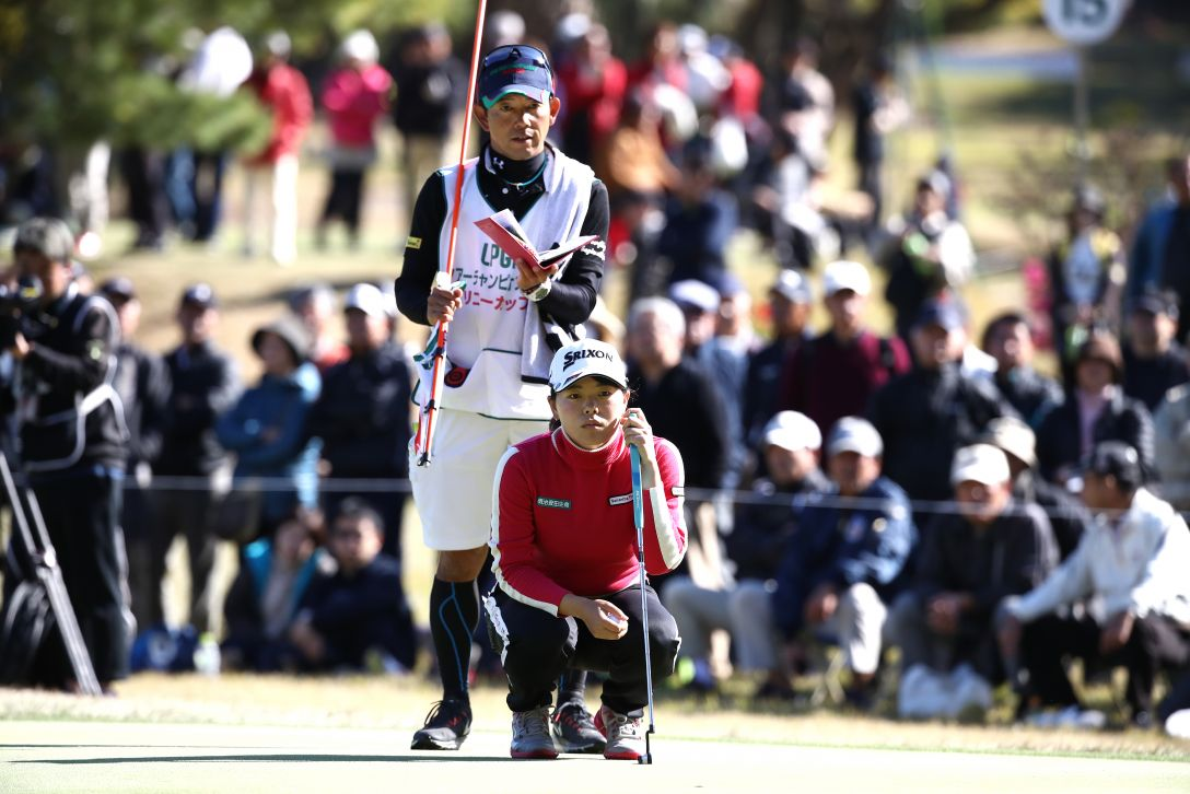 LPGAツアーチャンピオンシップリコーカップ 第2日 勝みなみ <Photo:Chung Sung-Jun/Getty Images>