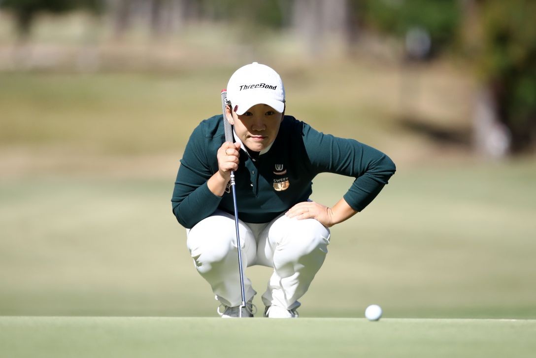 LPGAツアーチャンピオンシップリコーカップ 第2日 申ジエ <Photo:Chung Sung-Jun/Getty Images>
