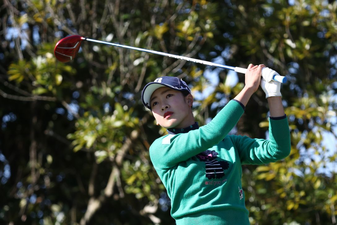 LPGAツアーチャンピオンシップリコーカップ 第2日 松田鈴英 <Photo:Chung Sung-Jun/Getty Images>