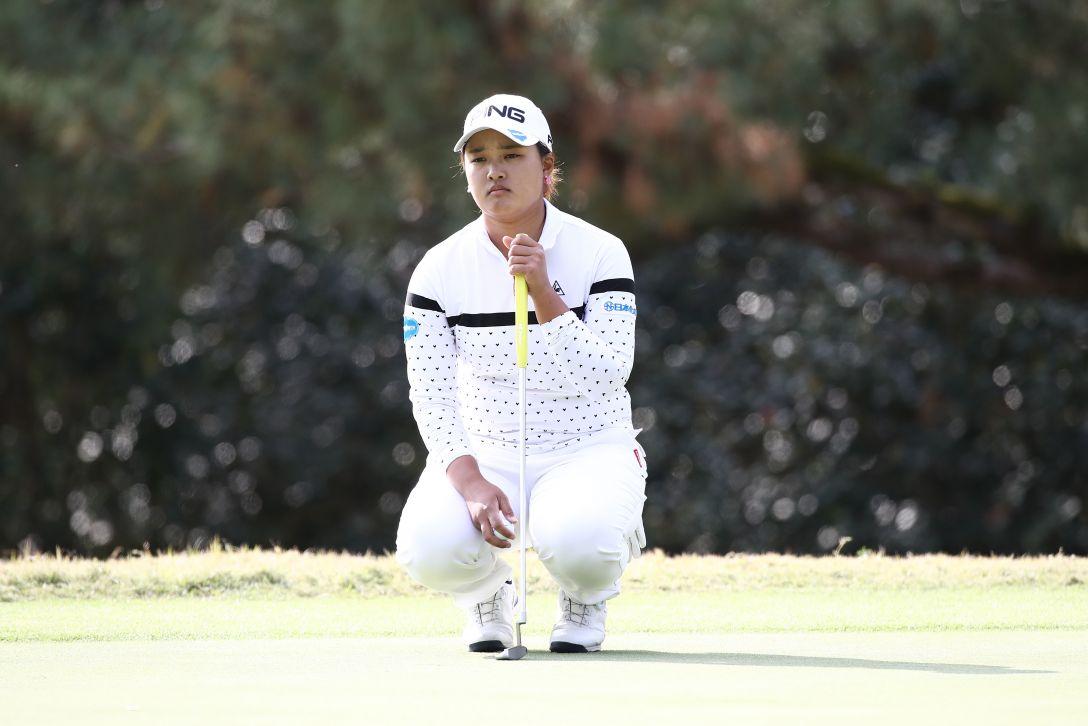 LPGAツアーチャンピオンシップリコーカップ 第3日 鈴木 愛 <Photo:Chung Sung-Jun/Getty Images>