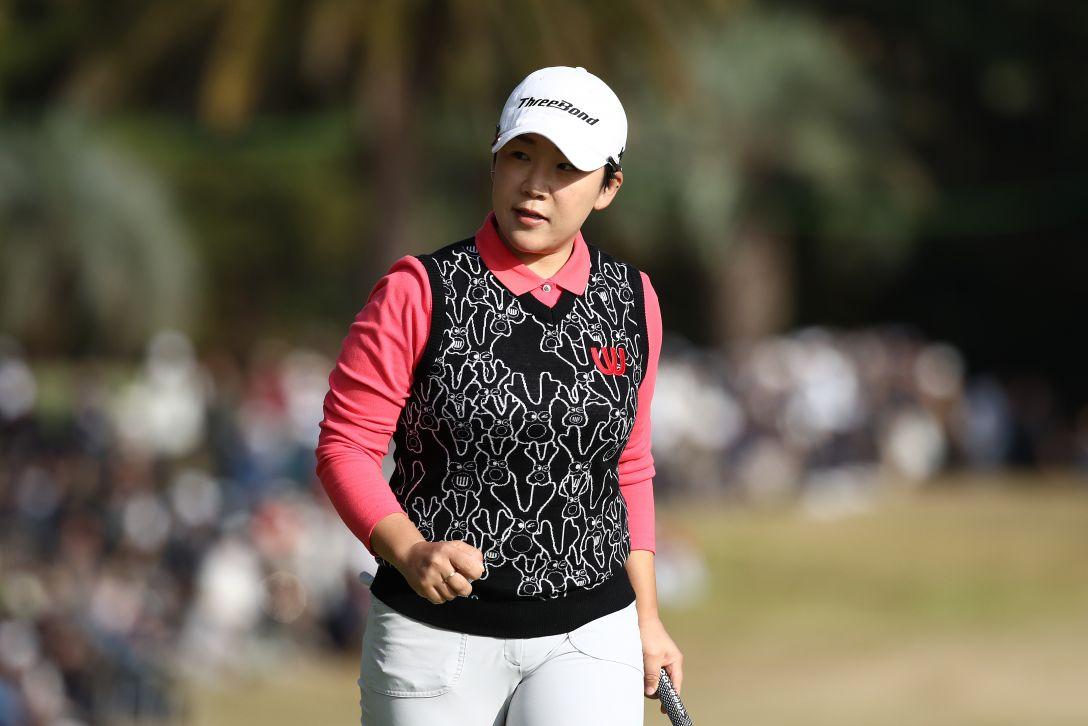 LPGAツアーチャンピオンシップリコーカップ 第3日 申ジエ <Photo:Chung Sung-Jun/Getty Images>