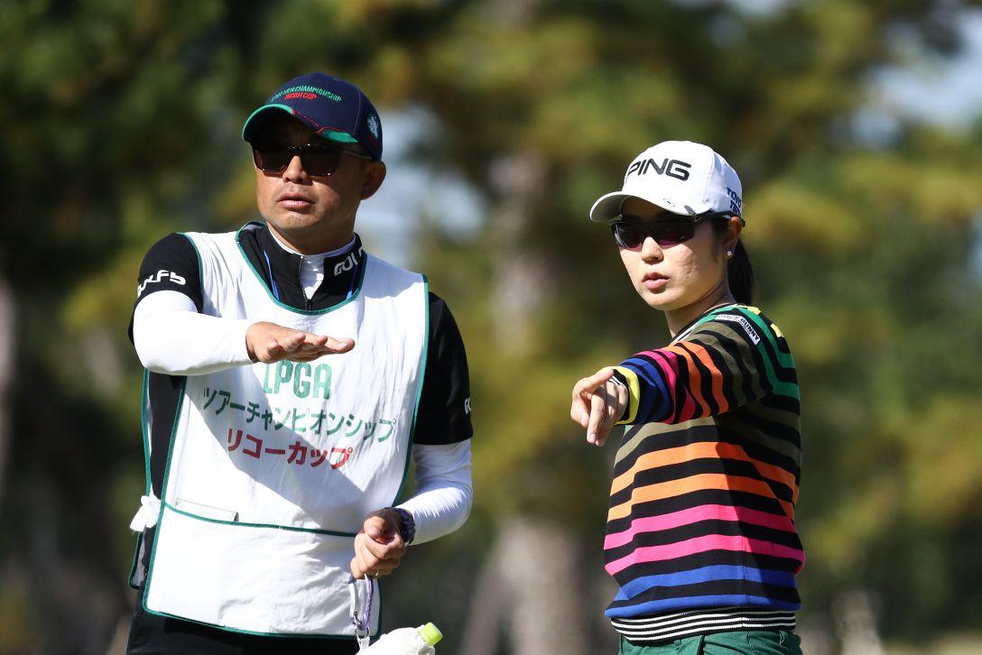LPGAツアーチャンピオンシップリコーカップ 最終日 比嘉真美子 <Photo:Chung Sung-Jun/Getty Images>