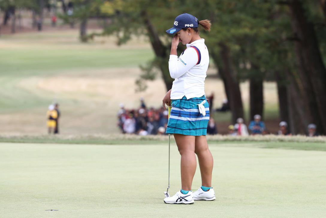 LPGAツアーチャンピオンシップリコーカップ 最終日 鈴木愛 <Photo:Chung Sung-Jun/Getty Images>