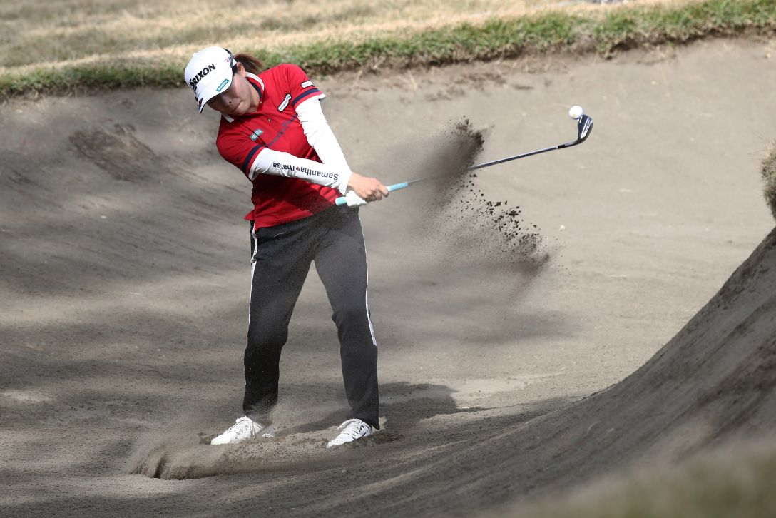 LPGAツアーチャンピオンシップリコーカップ 最終日 勝 みなみ <Photo:Chung Sung-Jun/Getty Images>