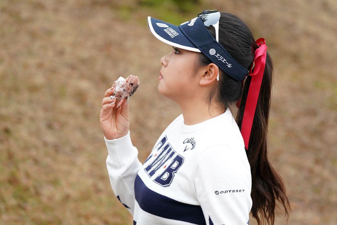 LPGA新人戦 加賀電子カップ 最終日 河本結<Photo:Ken Ishii/Getty Images>