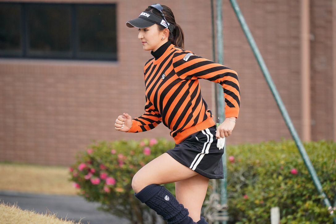 LPGA新人戦 加賀電子カップ 最終日 脇元 華<Photo:Ken Ishii/Getty Images>